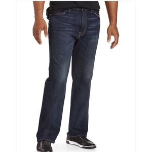 Lucky Brand 181 Relaxed straight jean 43x30